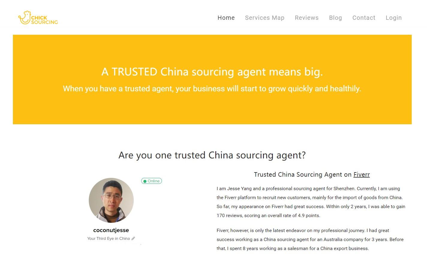 chick-sourcing-shenzhen agent