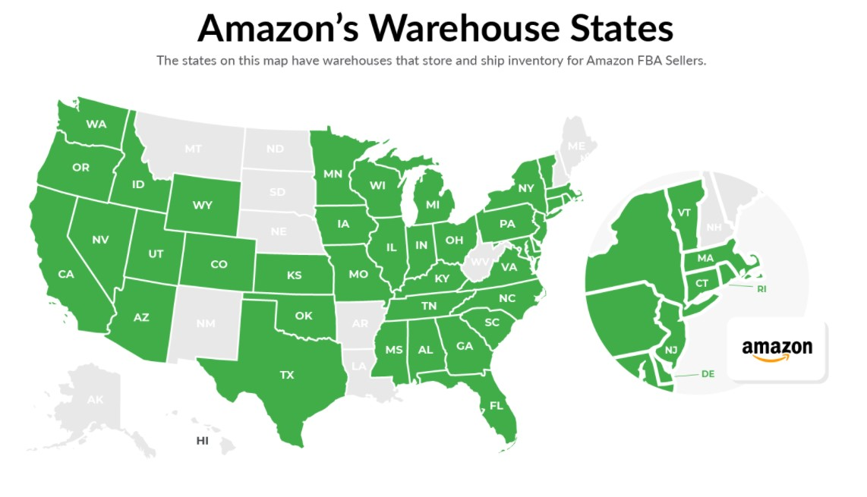 Amazon-warehouse-locations