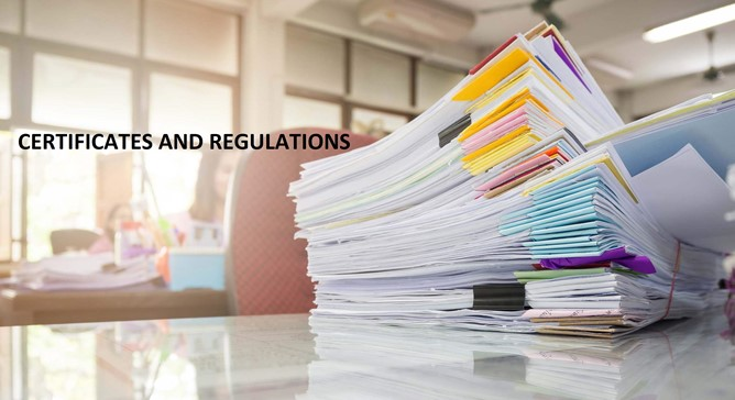 certificates-and-regulations